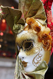 Máscara colorida tradicional de Veneza Imagem de Stock Royalty Free