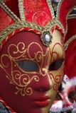 Máscara colorida tradicional de Veneza Imagens de Stock