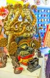 A máscara com cobras fotos de stock