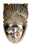 Máscara congolesa africana antigua Imágenes de archivo libres de regalías