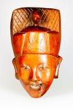 Máscara congolesa africana antigua Imagen de archivo libre de regalías