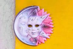 Máscara cor-de-rosa Imagem de Stock