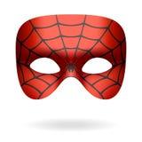 Máscara da aranha ilustração do vetor