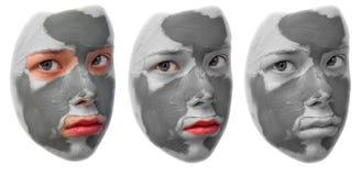 Máscara da beleza fotografia de stock royalty free