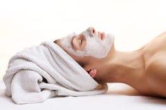 Máscara da beleza Imagens de Stock Royalty Free