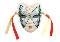 Máscara da borboleta Foto de Stock Royalty Free