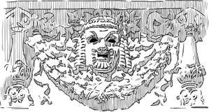 Máscara da comédia Imagem de Stock Royalty Free