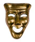 Máscara da comédia fotografia de stock