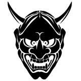 A máscara da ilustração de Japão Fotografia de Stock Royalty Free