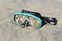 Máscara da nadada Foto de Stock