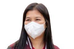 Máscara da proteção da poeira imagem de stock