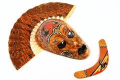 Máscara de Austrália Imagem de Stock