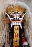 Máscara de Barong Bali Imágenes de archivo libres de regalías