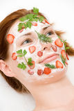 Máscara de beleza imagem de stock royalty free