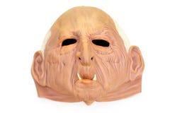 Máscara de borracha de Halloween Fotografia de Stock