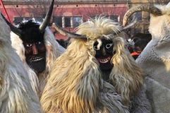 Máscara de Buso en Mohacs Foto de archivo libre de regalías