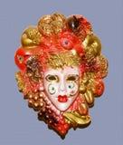 Máscara de Carnaval Fotografía de archivo libre de regalías