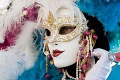 Máscara de Carneval Imágenes de archivo libres de regalías