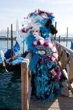 Máscara de Carneval Fotografia de Stock