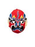Máscara de China en el fondo blanco Imágenes de archivo libres de regalías