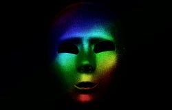 Máscara de Colorized fotografía de archivo libre de regalías
