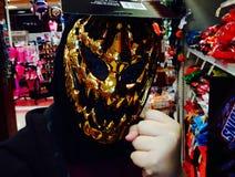 Máscara de Dia das Bruxas Fotos de Stock Royalty Free