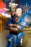 Máscara de Donald Trump en el carnaval del viareggio imagenes de archivo