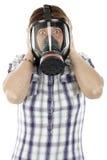 Máscara de gás foto de stock royalty free