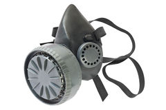 Máscara de gás isolada Imagem de Stock Royalty Free