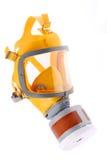 Máscara de gás moderna da borracha de silicone fotografia de stock royalty free