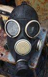 Máscara de gás velha fotos de stock