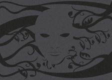 Máscara de Ghost sem uma cara 2 Imagem de Stock