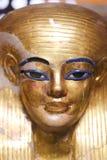 Máscara de Goldy en el museo egipcio imagenes de archivo