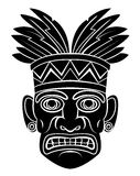 Máscara de Havaí ilustração royalty free