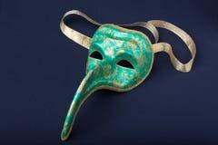 Máscara de Italy em um preto foto de stock