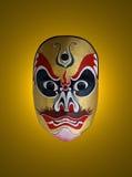 Máscara de la ópera china Fotografía de archivo