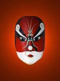 Máscara de la ópera china Imágenes de archivo libres de regalías