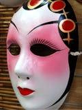Máscara de la ópera de Pekín fotografía de archivo libre de regalías