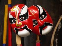 Máscara de la ópera de Pekín fotos de archivo