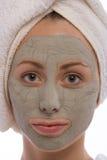 Máscara de la arcilla Imagen de archivo