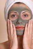 Máscara de la belleza imagen de archivo libre de regalías