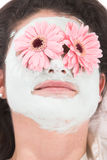 Máscara de la belleza Imagenes de archivo