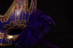 Máscara 1 de la celebración Fotos de archivo libres de regalías