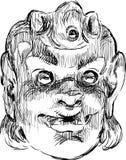 Máscara de la comedia Imagen de archivo