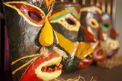 Máscara de la gente de Miao, China Imagen de archivo libre de regalías