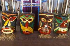 Máscara de la gente de Miao, China Imágenes de archivo libres de regalías