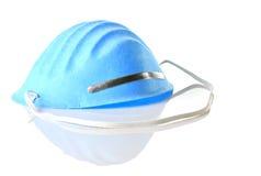 Máscara de la gripe Imágenes de archivo libres de regalías