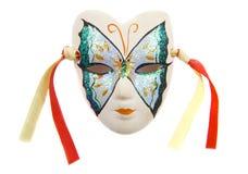 Máscara de la mariposa Foto de archivo libre de regalías