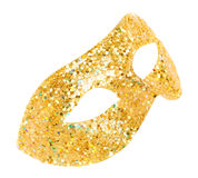 Máscara de la mascarada aislada Foto de archivo