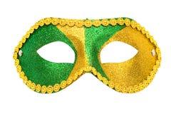 Máscara de la mascarada aislada Fotos de archivo